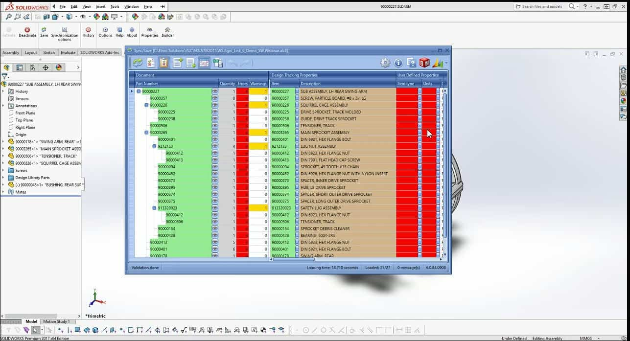 Integrate SOLIDWORKS PDM & Enterprise PDM With Any ERP System